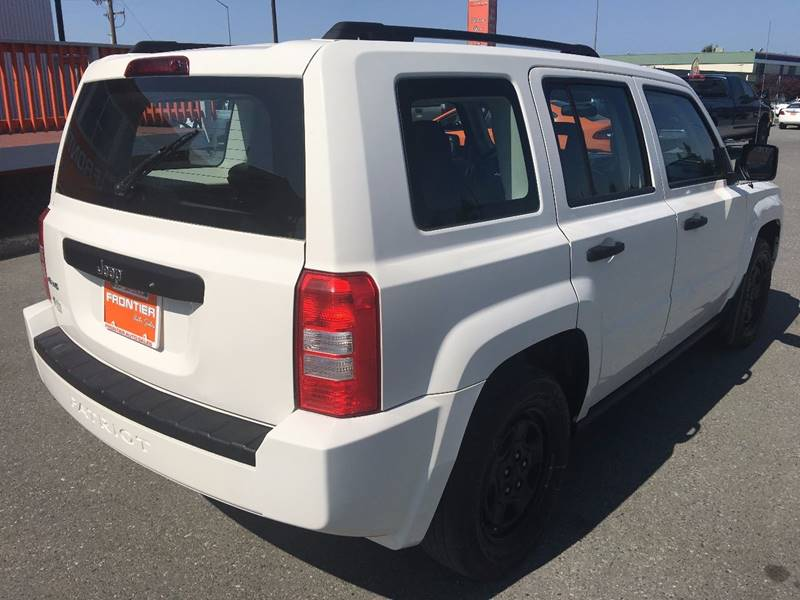 2008 Jeep Patriot for sale at Frontier Auto Sales in Anchorage AK