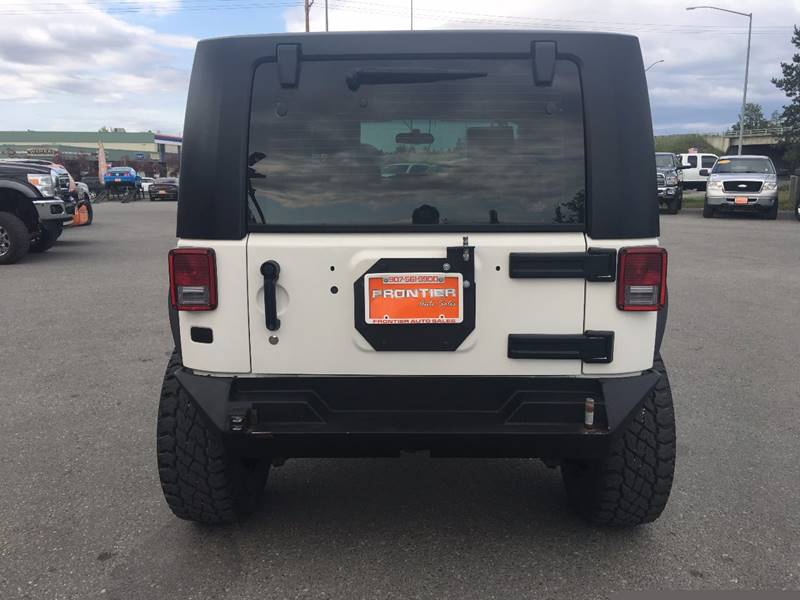 2010 Jeep Wrangler for sale at Frontier Auto Sales in Anchorage AK