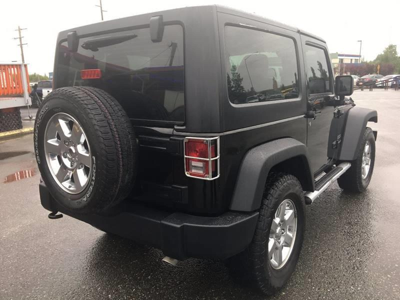 2012 Jeep Wrangler for sale at Frontier Auto Sales in Anchorage AK