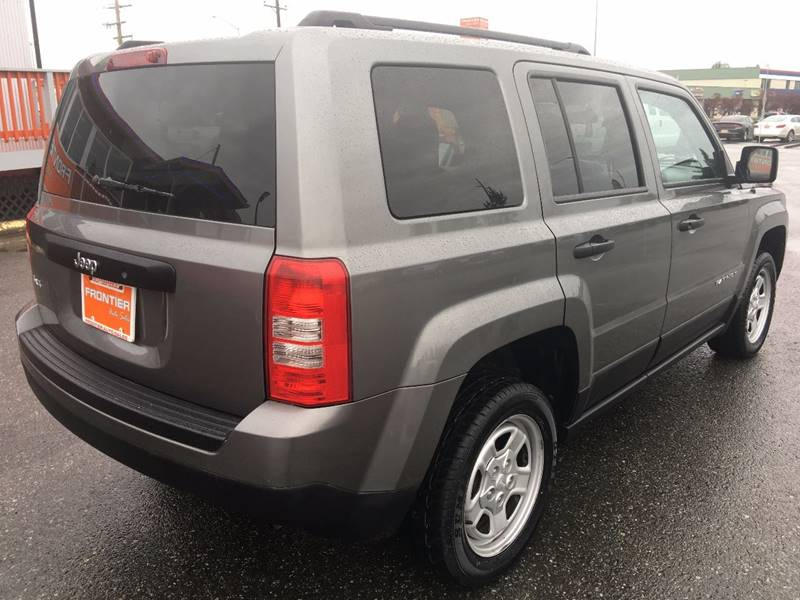 2013 Jeep Patriot for sale at Frontier Auto Sales in Anchorage AK