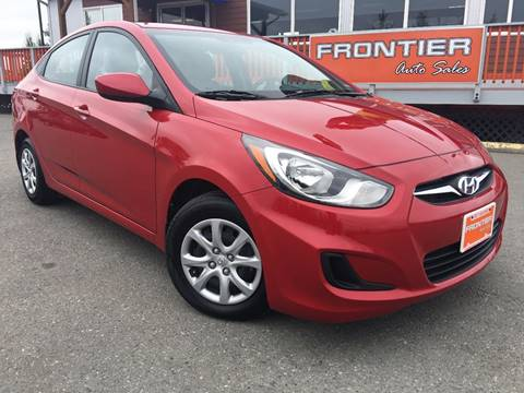 2014 Hyundai Accent for sale at Frontier Auto Sales in Anchorage AK
