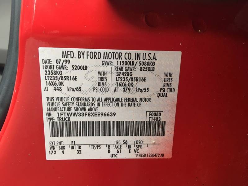 1999 Ford F-350 Super Duty for sale at Frontier Auto Sales in Anchorage AK