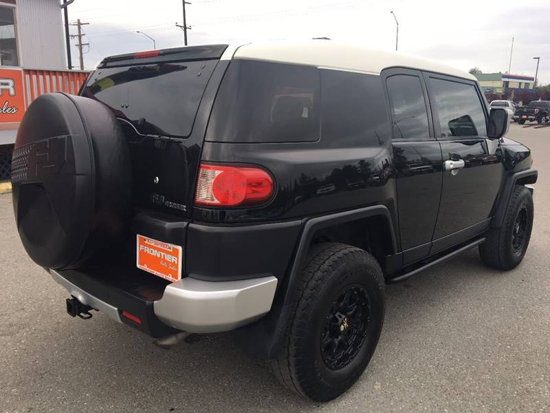 2008 Toyota FJ Cruiser for sale at Frontier Auto Sales in Anchorage AK