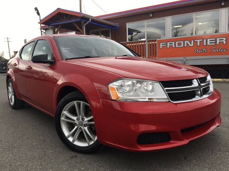 2012 Dodge Avenger for sale at Frontier Auto Sales in Anchorage AK