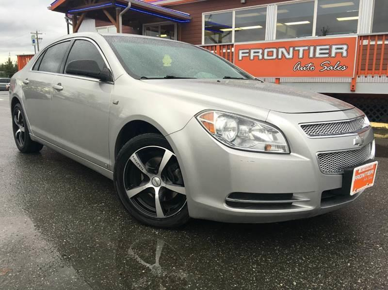 2008 Chevrolet Malibu for sale at Frontier Auto Sales in Anchorage AK