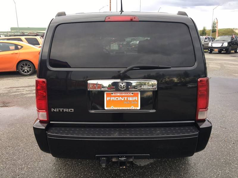 2008 Dodge Nitro for sale at Frontier Auto Sales in Anchorage AK