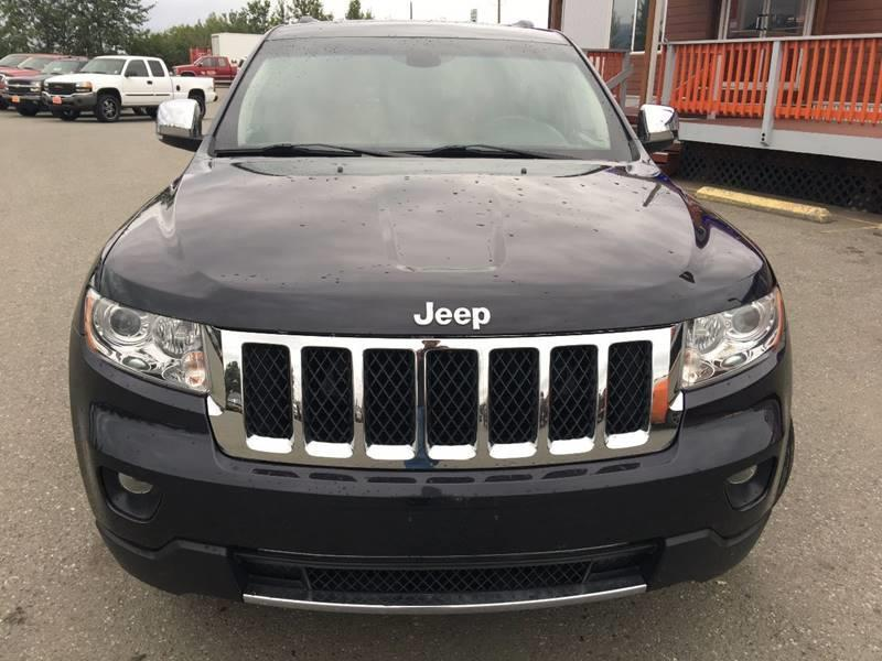 2012 Jeep Grand Cherokee for sale at Frontier Auto Sales in Anchorage AK