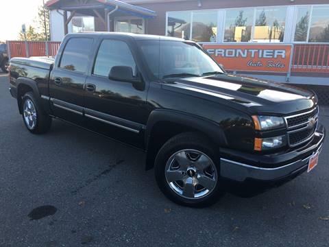 2006 Chevrolet Silverado 1500 for sale at Frontier Auto Sales in Anchorage AK