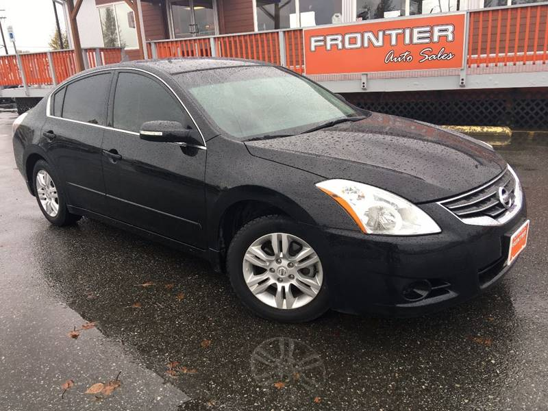 2012 Nissan Altima for sale at Frontier Auto Sales in Anchorage AK