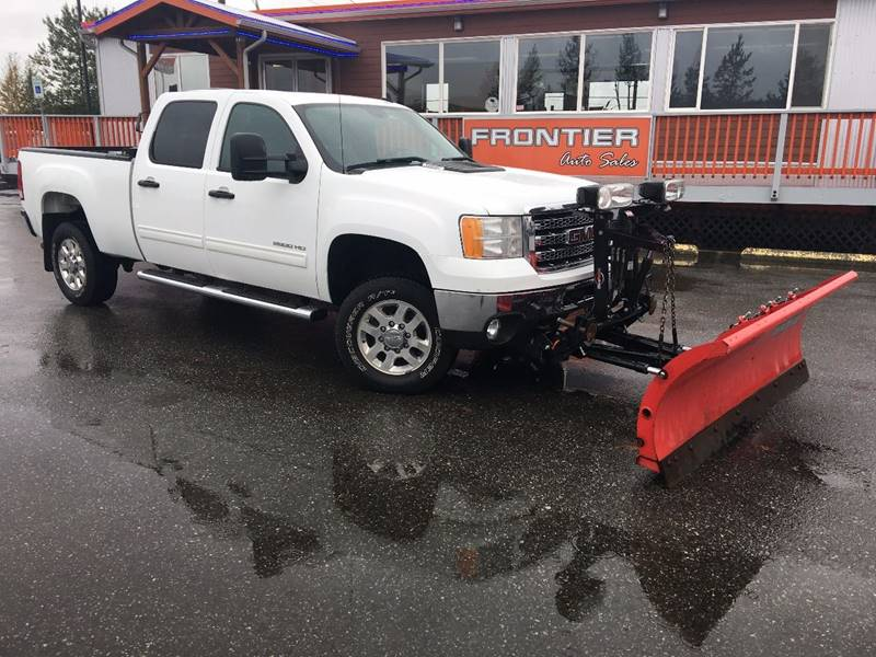 2013 GMC Sierra 2500HD for sale at Frontier Auto Sales in Anchorage AK