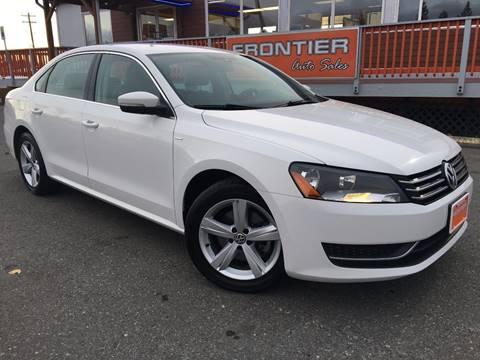 2014 Volkswagen Passat for sale in Anchorage, AK
