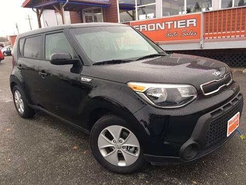 2016 Kia Soul for sale at Frontier Auto Sales in Anchorage AK