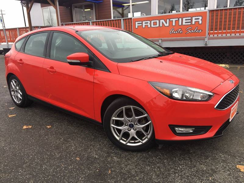 2015 Ford Focus for sale at Frontier Auto Sales in Anchorage AK