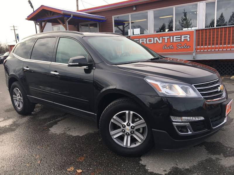 2015 Chevrolet Traverse for sale at Frontier Auto Sales in Anchorage AK