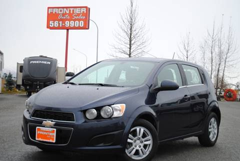 2015 Chevrolet Sonic for sale at Frontier Auto & RV Sales in Anchorage AK