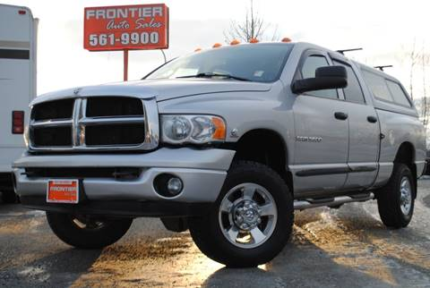 2005 Dodge Ram Pickup 3500 for sale at Frontier Auto Sales in Anchorage AK