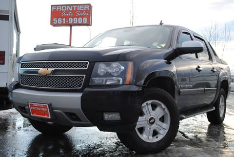 2008 Chevrolet Avalanche for sale at Frontier Auto Sales in Anchorage AK