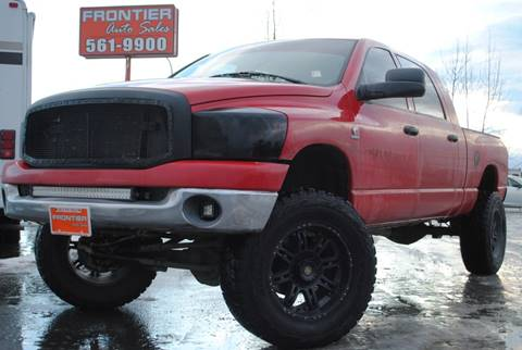 2008 Dodge Ram Pickup 2500 for sale at Frontier Auto Sales in Anchorage AK