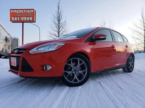 2013 Ford Focus for sale at Frontier Auto & RV Sales in Anchorage AK