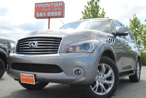 2011 Infiniti QX56 for sale at Frontier Auto & RV Sales in Anchorage AK