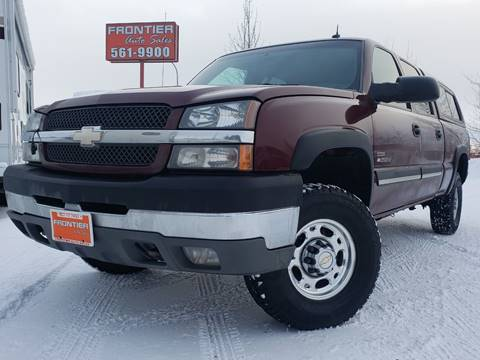 2003 Chevrolet Silverado 2500HD for sale at Frontier Auto & RV Sales in Anchorage AK