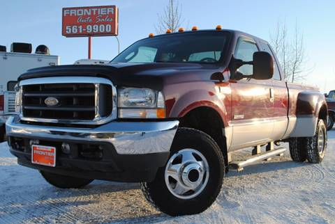 2004 Ford F-350 Super Duty Lariat for sale at Frontier Auto Sales in Anchorage AK