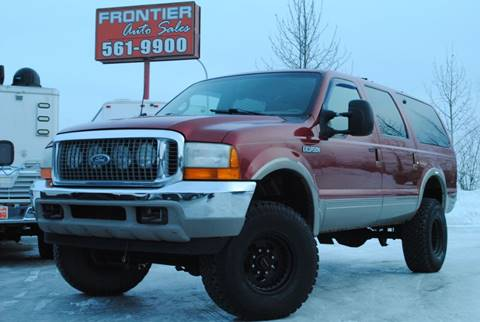2000 Ford Excursion Limited for sale at Frontier Auto Sales in Anchorage AK