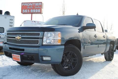 2012 Chevrolet Silverado 1500 LTZ for sale at Frontier Auto Sales in Anchorage AK