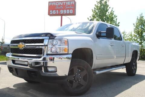 2011 Chevrolet Silverado 2500HD for sale at Frontier Auto & RV Sales in Anchorage AK