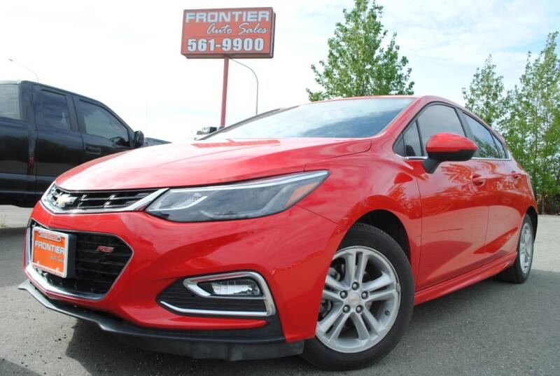 2017 Chevrolet Cruze for sale at Frontier Auto & RV Sales in Anchorage AK