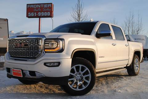 2017 GMC Sierra 1500 for sale at Frontier Auto & RV Sales in Anchorage AK
