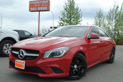 2015 Mercedes-Benz CLA for sale at Frontier Auto & RV Sales in Anchorage AK