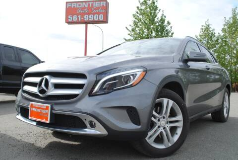 2016 Mercedes-Benz GLA for sale at Frontier Auto & RV Sales in Anchorage AK