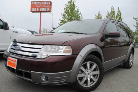 2009 Ford Taurus X for sale at Frontier Auto & RV Sales in Anchorage AK