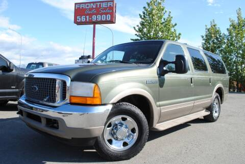 2000 Ford Excursion for sale at Frontier Auto & RV Sales in Anchorage AK