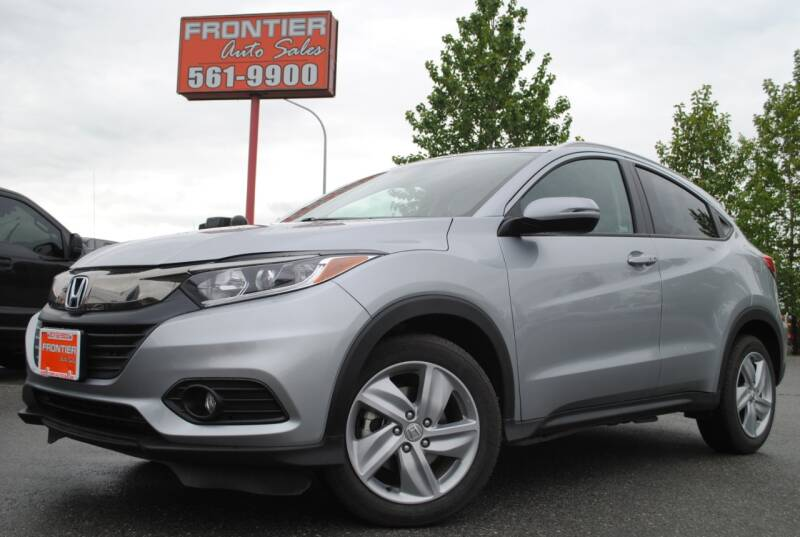 2019 Honda HR-V for sale at Frontier Auto & RV Sales in Anchorage AK