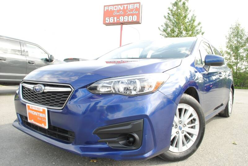 2018 Subaru Impreza for sale at Frontier Auto & RV Sales in Anchorage AK