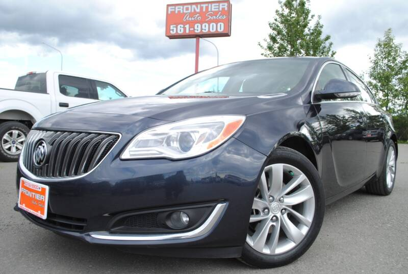 2014 Buick Regal for sale at Frontier Auto & RV Sales in Anchorage AK