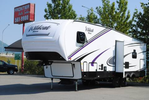 2020 Wildcat Maxx 292MKX for sale at Frontier Auto & RV Sales in Anchorage AK