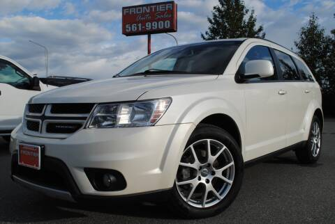 2013 Dodge Journey for sale at Frontier Auto & RV Sales in Anchorage AK