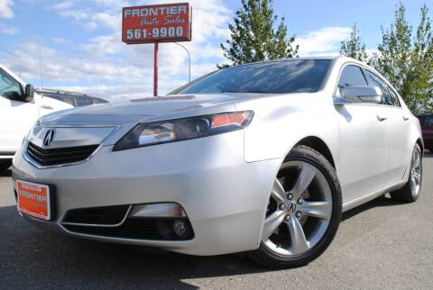 2013 Acura TL for sale at Frontier Auto & RV Sales in Anchorage AK