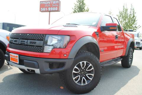 2012 Ford F-150 for sale at Frontier Auto & RV Sales in Anchorage AK