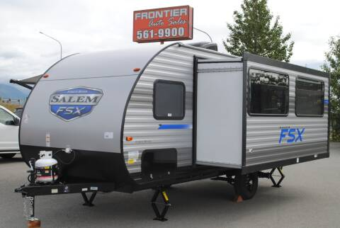 2021 Salem FSX 170SS for sale at Frontier Auto & RV Sales in Anchorage AK