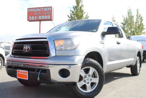 2010 Toyota Tundra for sale at Frontier Auto & RV Sales in Anchorage AK