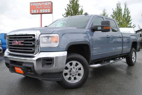 2015 GMC Sierra 2500HD for sale at Frontier Auto & RV Sales in Anchorage AK