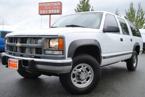 1999 Chevrolet Suburban for sale at Frontier Auto & RV Sales in Anchorage AK