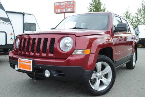 2012 Jeep Patriot for sale at Frontier Auto & RV Sales in Anchorage AK