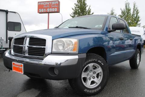 2005 Dodge Dakota for sale at Frontier Auto & RV Sales in Anchorage AK