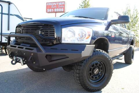 2008 Dodge Ram Pickup 2500 for sale at Frontier Auto & RV Sales in Anchorage AK