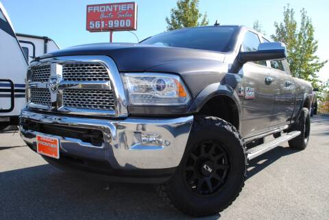 2015 RAM Ram Pickup 2500 for sale at Frontier Auto & RV Sales in Anchorage AK